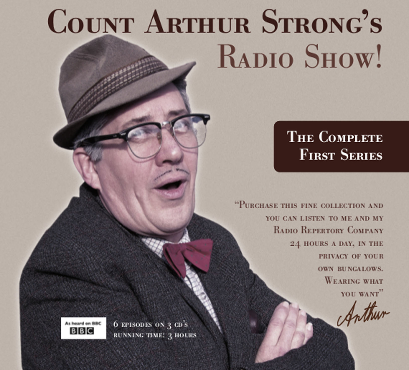 Count Arthur Strong's Radio Show! - Series 1 (complete) (3CD)
