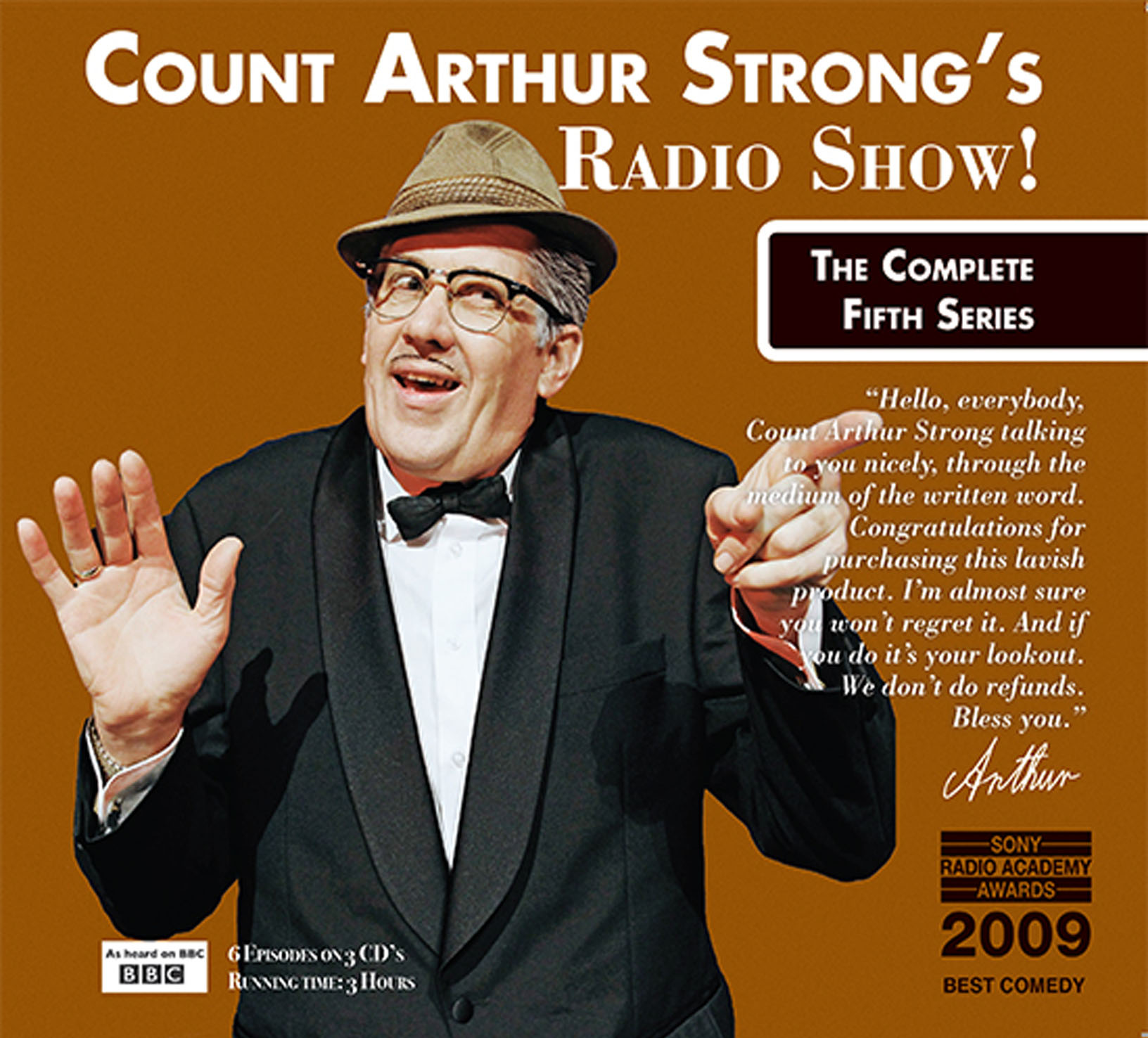 Count arthur strong's radio show! : the complete first series.