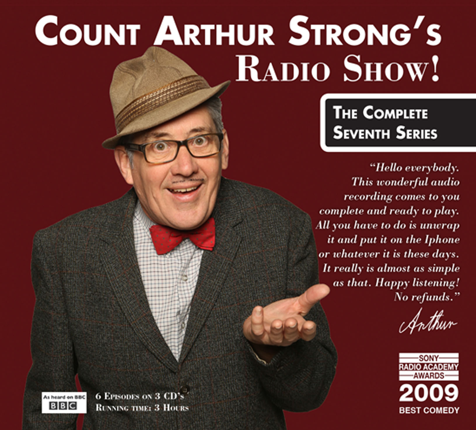 Count arthur strong's radio show! The complete seventh series ep.